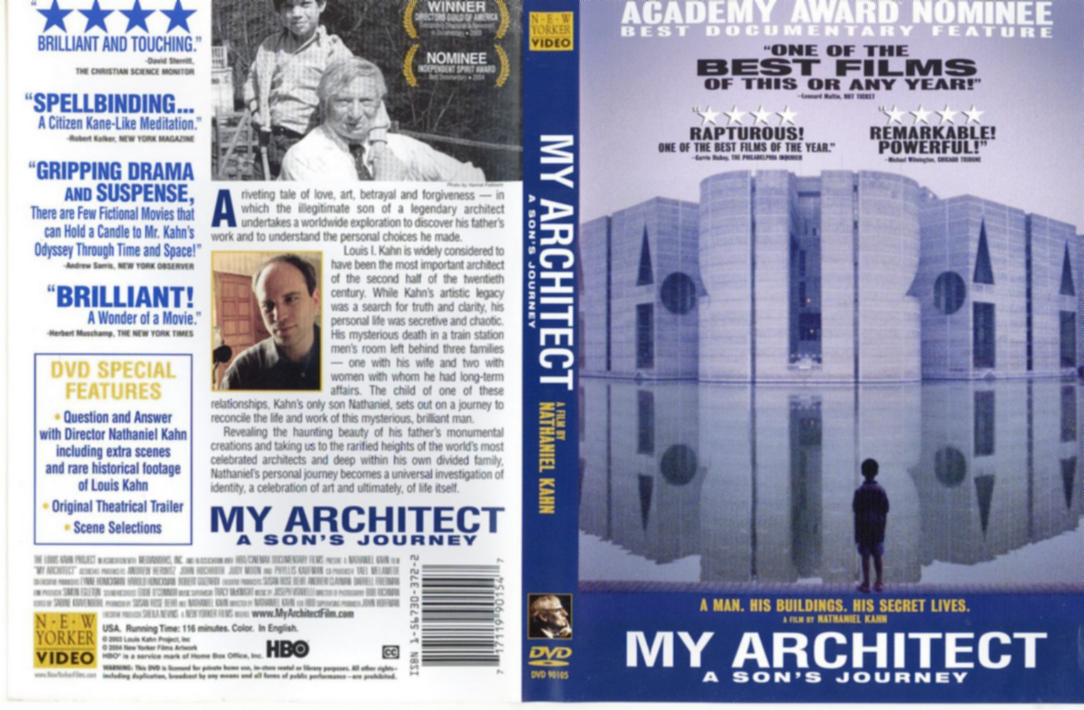 My Architect Movie Review Film Summary 2004 Roger Ebert